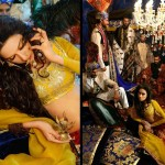 Ali Xeeshan Mehndi Day Bridal In Yellow Suit