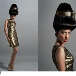 Neesha Rai Basket Hairstyle By Arpita Karania