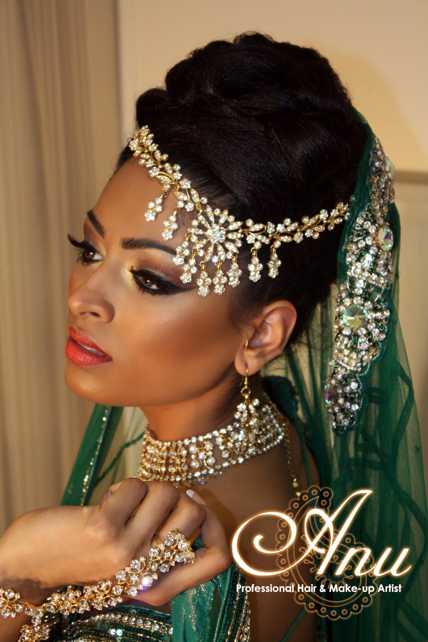 asian bridal makeup by anu malhi 2 | stylecry: bridal dresses