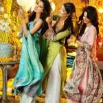Bonanza Lawn Khawar Riaz Bridal Mehndi Shoot For Designer Kamiar Rokni Label