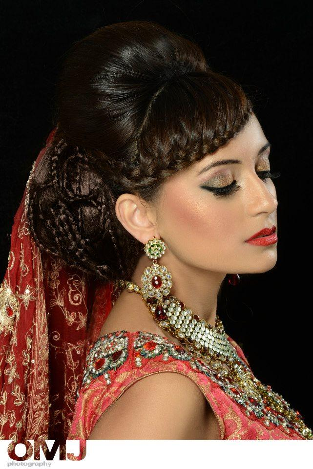 Complete bridal makeup