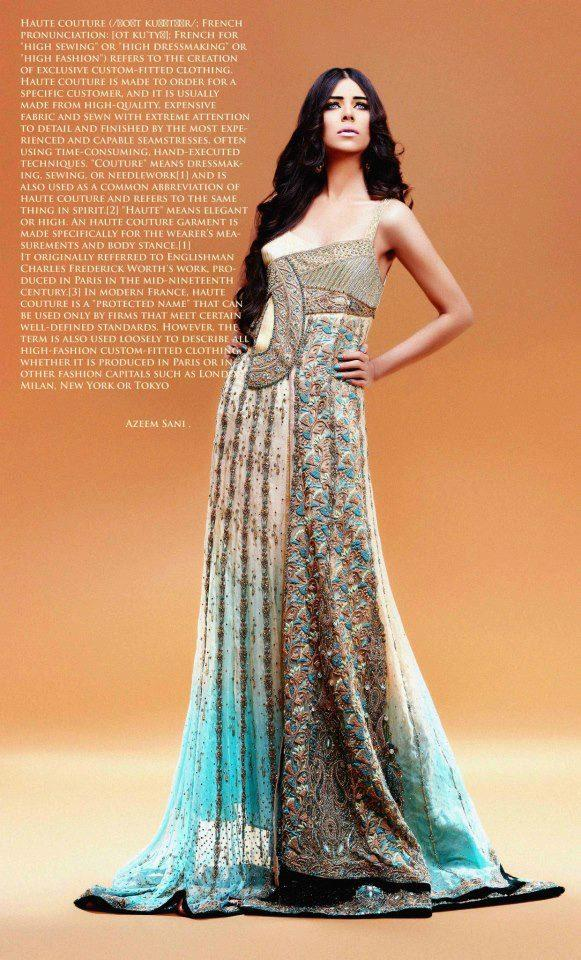 Bridal Wedding Dress 2013 Collection By Erum Khan | FashionStyleCry ...