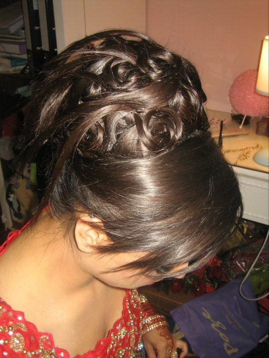 bun twist jora bridal hairstyle ideas fashionstylecry