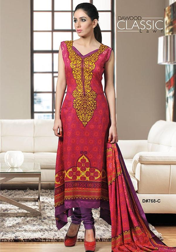 Dawood classic lawn summer spring 2013 collection vol 1 for Bano market faisalabad dresses
