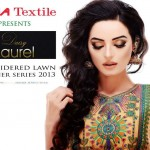 Exclusive Embroidered Lawn Collection By Ajwa Textile Daisy Laurel