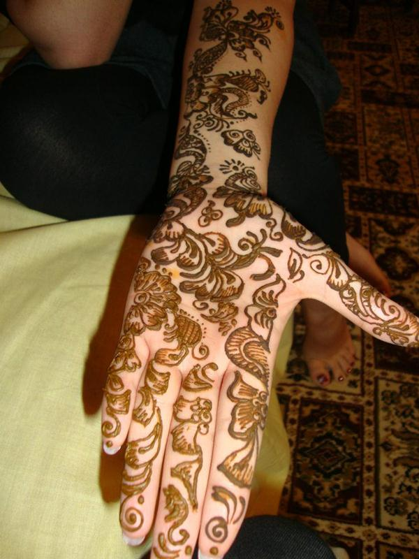 Full Arm Mehndi : Full hand and arm bridal mehndi designs by arpita