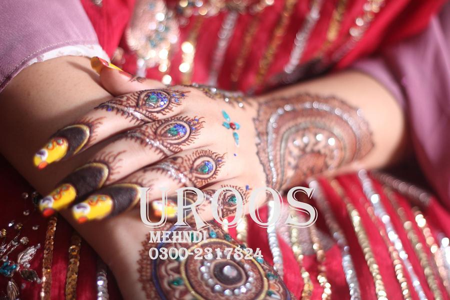 Uroos Mehndi Designs