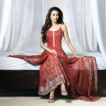 Embroidery Patterns And Intricate Vivid Color Spring Crescent Lawn - Karisma Kapoor