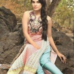 Nadia Hussain Shoots Summer Lawn Collection By Shariq Textiles