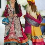 New Style Double Shirt Bridal Lehenga Collection By Kosain Kazmi