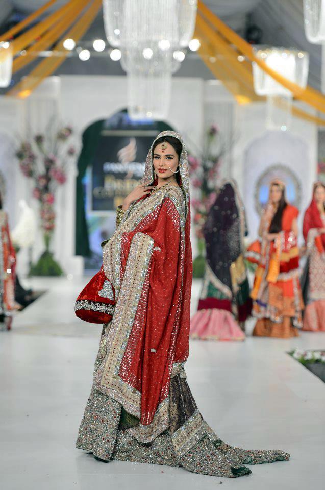 New Style Double Shirt Bridal Lehenga 16   StyleCry: Bridal Dresses ...