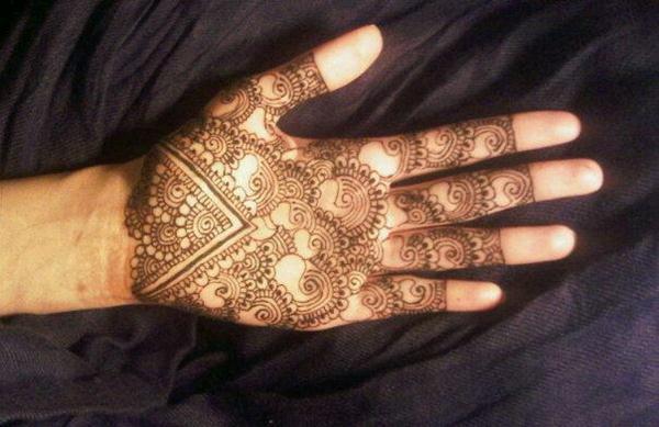 Mehndi Full Hand Bridal Design : Bridal full hand mehndi designs for girls by nikaah