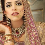 Pakistani Bridal Lehnga Choli With Accessories