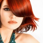 Shaking Winter Hair Color Fashion For Girls