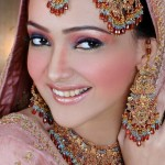 Amna Karim Bridal Makeover And Jewellery Photoshoot