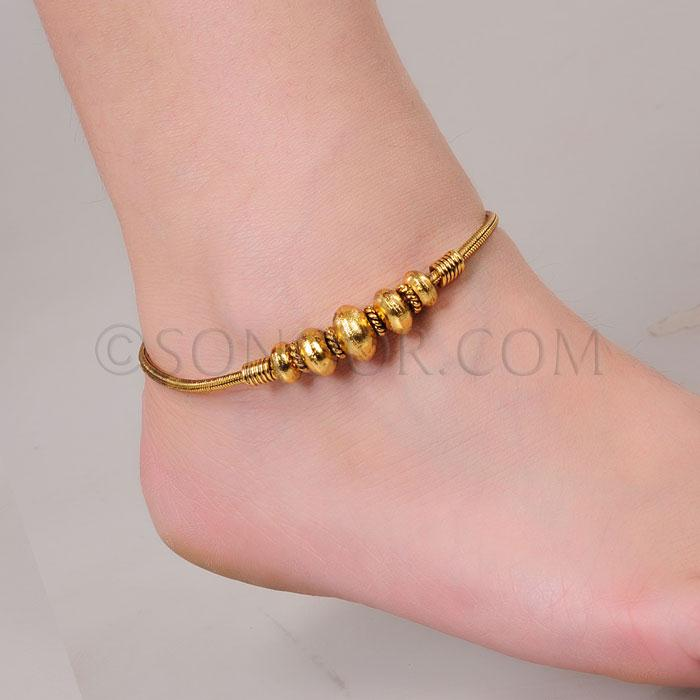 products gold bracelet product foot leaf anklet chain adjustable real image sexy ankle simple