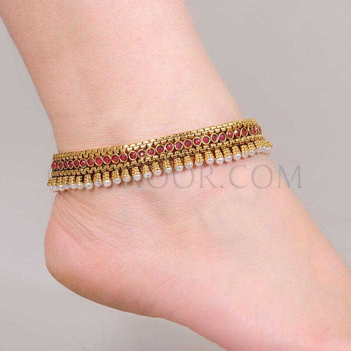 Anklets Designs For Girls Anklet Jewelry Payal Sonoor