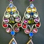 Diamond Party Wear Earring By Elegance
