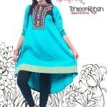 Party Wear Ready To Wear Dress For Girls By Tehseen Rehan