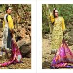 Nadia Hussain Premium Signature Lawn Collection 2013 By Shariq Textiles