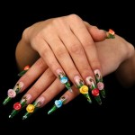Paint Your Nails In Crazy Way - Awesome Nail Art