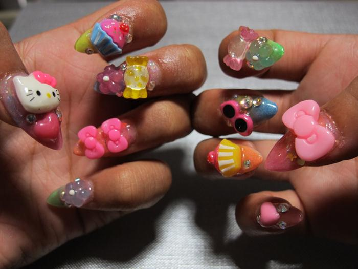Paint Your Nails In Crazy Way 3 | StyleCry: Bridal Dresses, Women ...