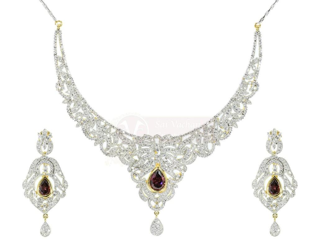 Bridal Diamond Wedding Day Jewelry Sets Collection FashionStyleCry