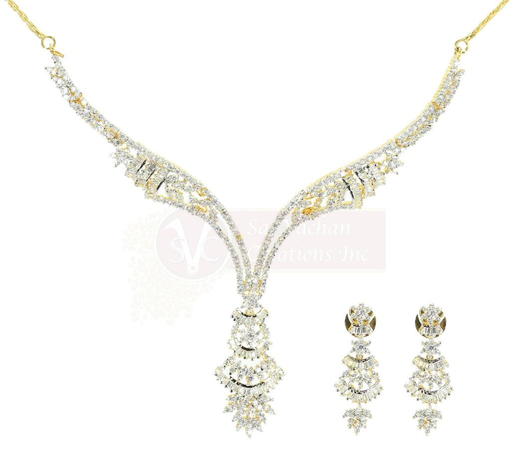 Bridal Diamond Wedding Day Jewelry Sets Collection