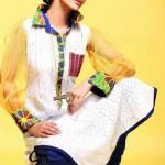 Zahra Ahmad Long Shirts And Summer Kurta Collection 2013 For Women
