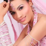 Bridal Eye Makeup And Hairstyle For Wedding Day