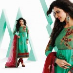 Embroidery Designer Casual Wear Dress For Girls