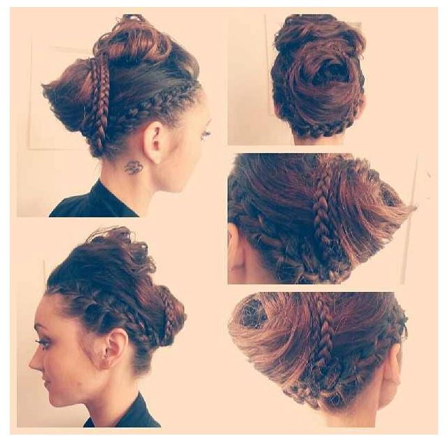 Updo Hairstyle For Bridal And Party 13 Stylecry Bridal Dresses