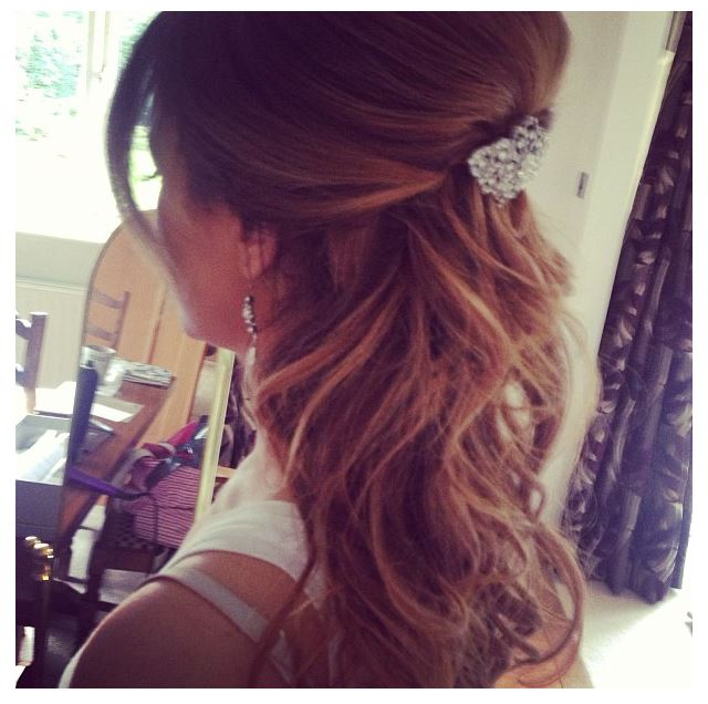 Bridal Hairstyle Stylecry Bridal Dresses Women Wear