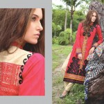 Firdous Winter Designer Suit For Girls