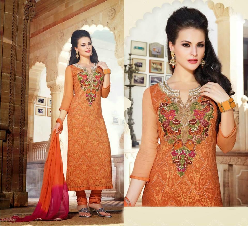 design baju india pure chiffon 2 fashion koleksi design baju
