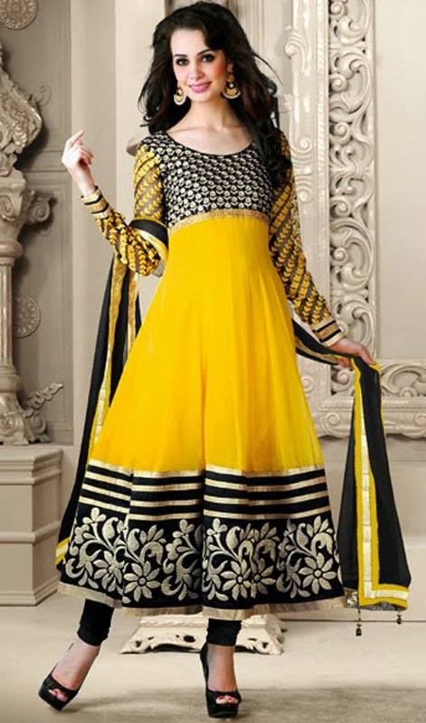 794aec3c9 Kaneesha Adorable Colors Frock Style