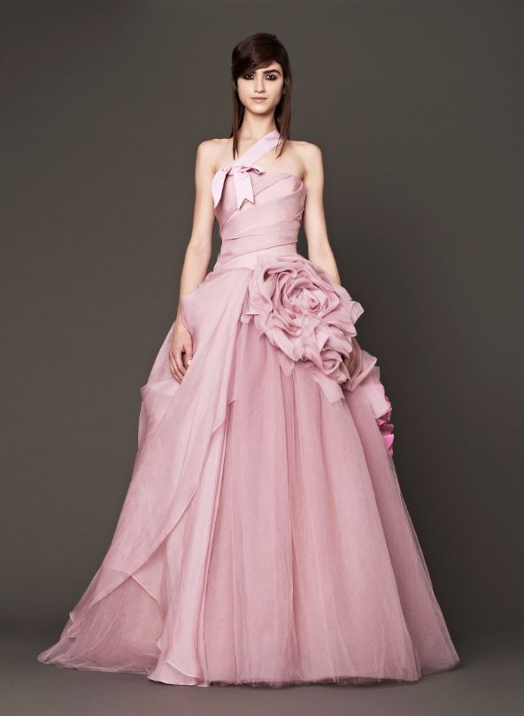 Vera Wang Colored Wedding Day Bridal Gown Collection 2013 ...