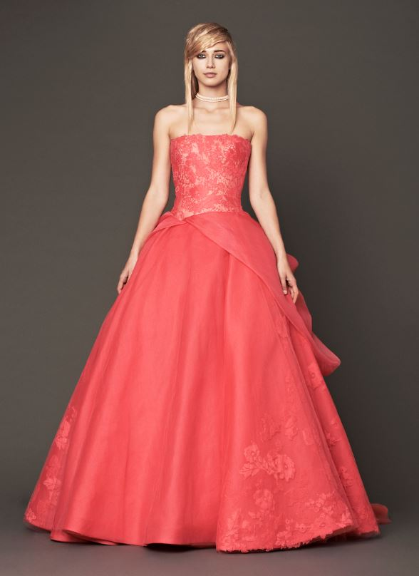 Vera Wang Prom Dress 9 Stylecry Bridal Dresses Women Wear Makeup