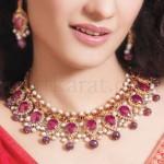 Art Karat Party Wear Pendants For Girls