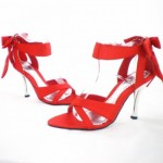 Bridal Wear High Heel Footwear Designs For Girls