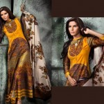 Shaistaz Winter New Collection Ittehad Linen 2013