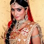 Bridal Wear Jasmine Michael Agni Wedding Saree
