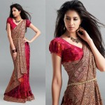 Sparsh Trendz Silk Saree For Christmas Day