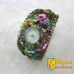 Elegant Artificial Jewellery Watches For Girls
