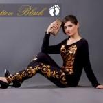 Girls Wear Western Style Black Beauty