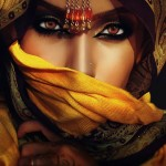 Bridal Smokey Eye Makeup With Maang Tikka
