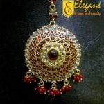 Elegant Artificial Jewellery Head Pin And Maang Tikka