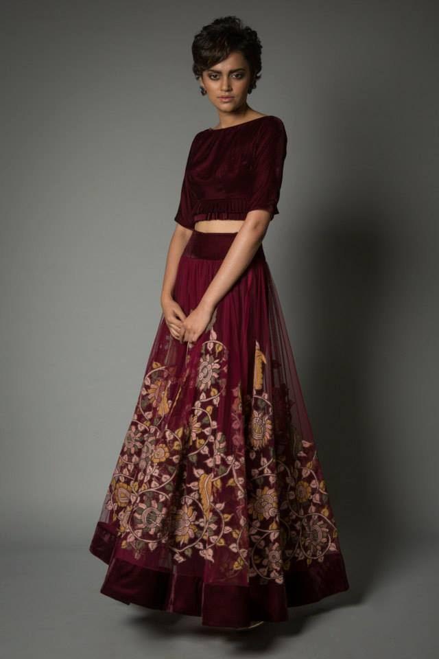 Neeta Lulla Kalamkari Collection 18   StyleCry: Bridal Dresses ...