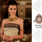 Bridal Wear Engagement Jewelry Set By Talwar Jewellers