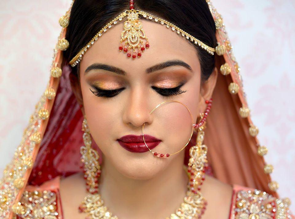 Bridal Makeup Lookbook : Branded Makeup Bridal Lookbook By Anam Salon ...